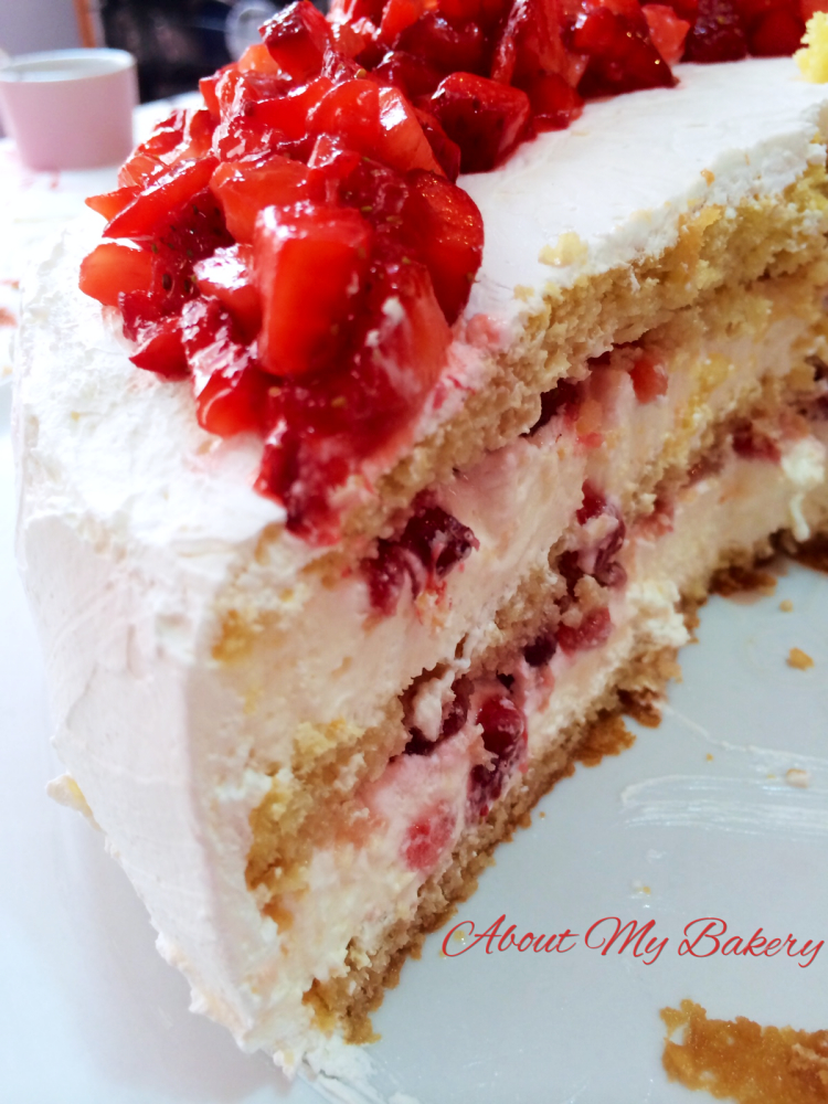 Torta Desiderio alle Fragole | About My Bakery