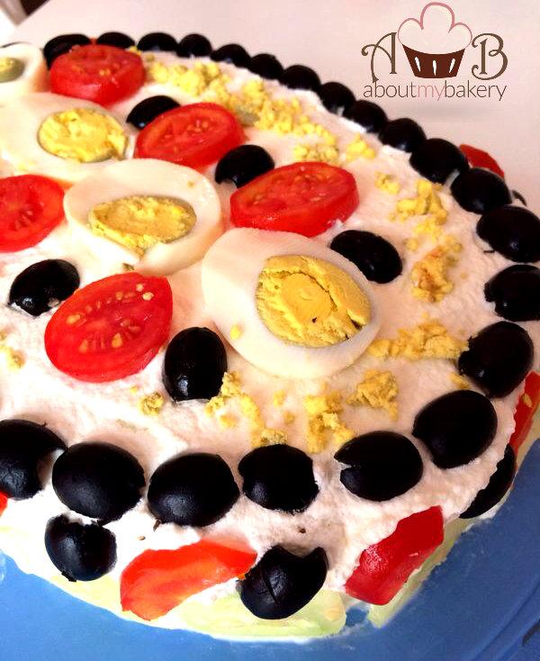 Torta Tramezzino   Idea fresca e d'effetto