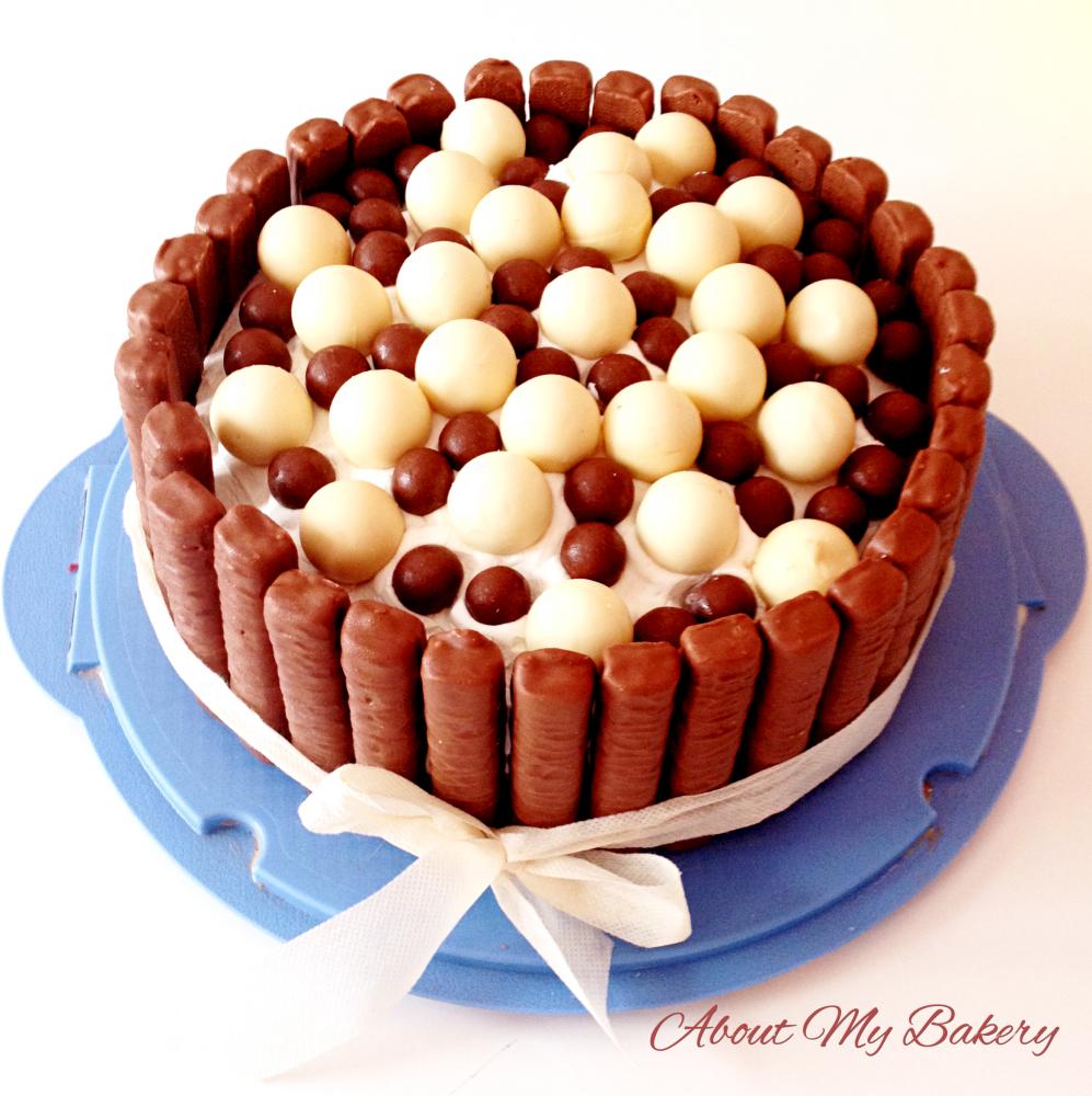 Torta esplosione di cioccolato