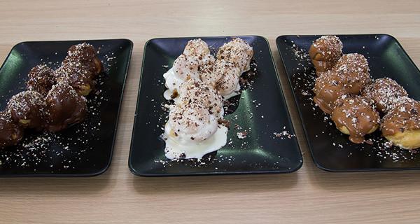 Profiteroles ai tre cioccolati | Bake Off Italia
