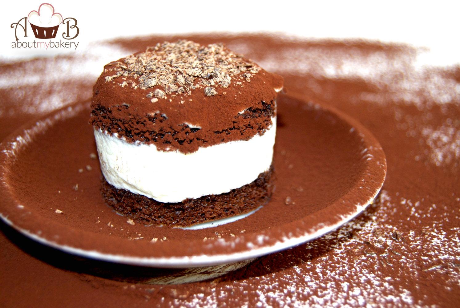Tortino pere e cioccolato
