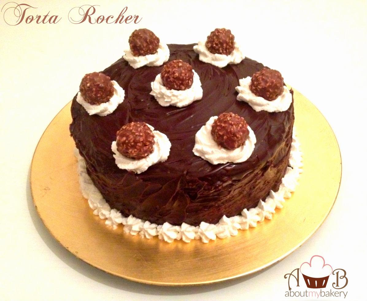 Torta Rocher – Un cioccolatino che diventa una torta