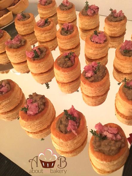Vol au vent lenticchie salsiccia - Finger food per le feste