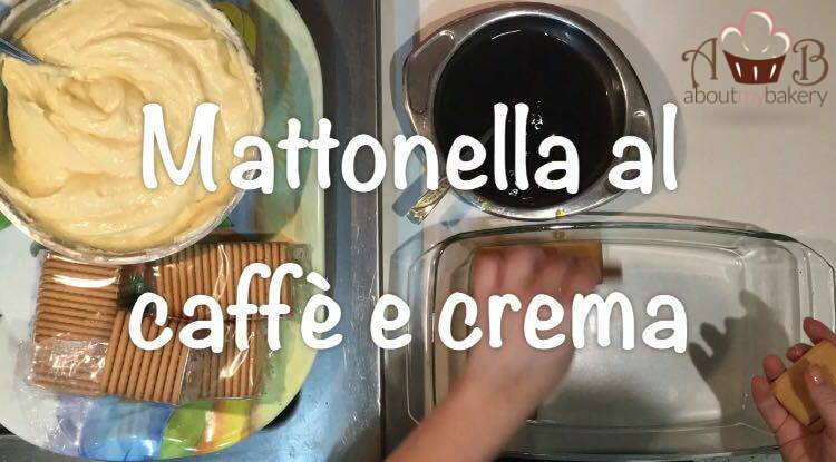 Mattonella al caffè e crema pasticcera - Dolce semplice