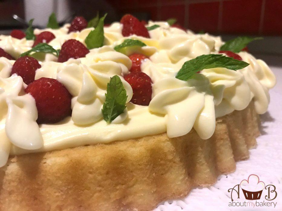Crostata morbida fragole mascarpone   Torta veloce e fresca