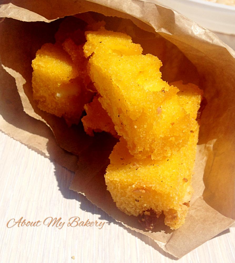 Bastoncini di polenta fritta – Idee per l'happy hour