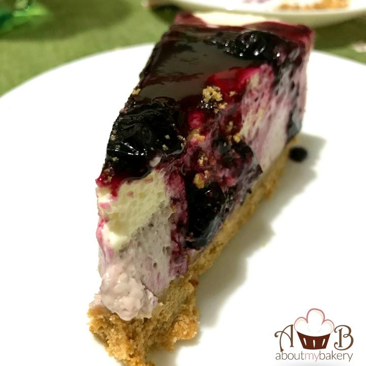Cheesecake Mirtilli Fredda Senza Cottura Con Philadelphia E
