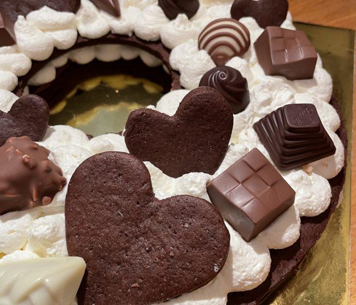Cream tart al cioccolato – Come riutilizzare i cioccolatini
