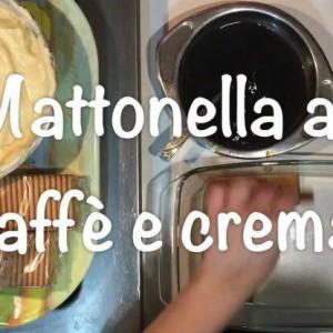 Mattonella al caffè e crema pasticcera – Dolce semplice