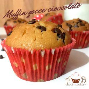 Muffin gocce cioccolato | Dolce veloce