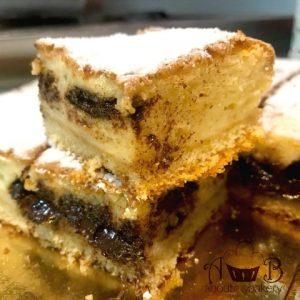 Torta morbida farcita ricotta cioccolato - Merenda veloce