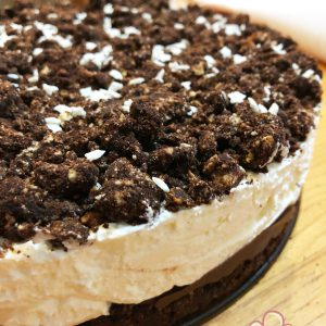 Torta mascarpone nutella fredda senza cottura