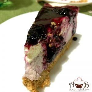 Cheesecake mirtilli fredda senza cottura con philadelphia e mascarpone