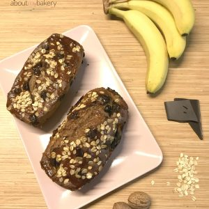Banana bread light con 2 banane