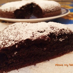 "Torta al cacao ""Nuvola Nera"""
