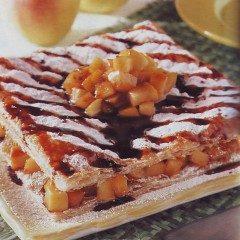 Torta sfoglia con le mele