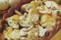 Pollo alla panna e champignon