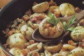 Champignon con pancetta affumicata