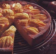 Torta di mele alla crema di panna