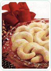 Biscotti mezzelune profumate