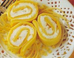 Pan biscotto arrotolato al limone