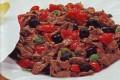 Straccettini di carne alle olive