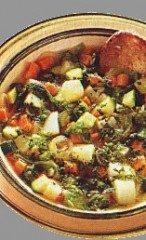 Zuppa di verdura leggera