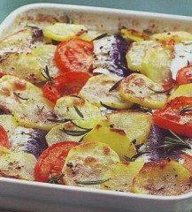 Teglia con sardine e patate