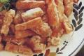 Bastoncini di carote in pastella