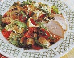 Crèpes in insalatata