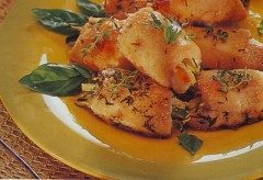 Petto di pollo farcito alle zucchine