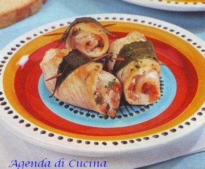 Involtini di pesce spada al pomodoro