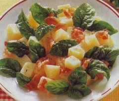 Insalata di spinaci e patate