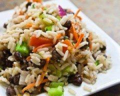 Insalata di riso ai fagioli