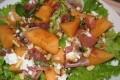 Insalata di melone e pecorino