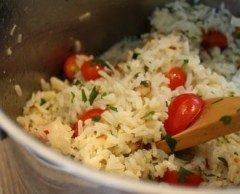 Insalata di riso alle mandorle