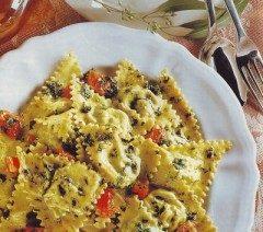 Ravioli di zucchine