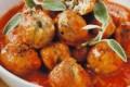 Polpette di vitello in salsa di pomodoro