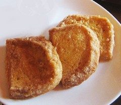 Pan dorato in pastella