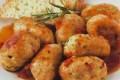 Polpette di pollo acciughe e zucchine