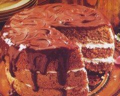 Torta con crema Cioccolata