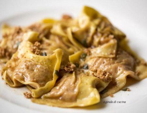 Tortelli di zucca salvia e noci (la prova del cuoco)