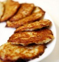 Frittelline di patate al prosciutto