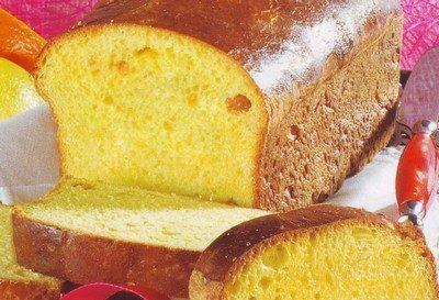Pane dolce alle noci e mandorle