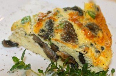 Frittata agli champignon