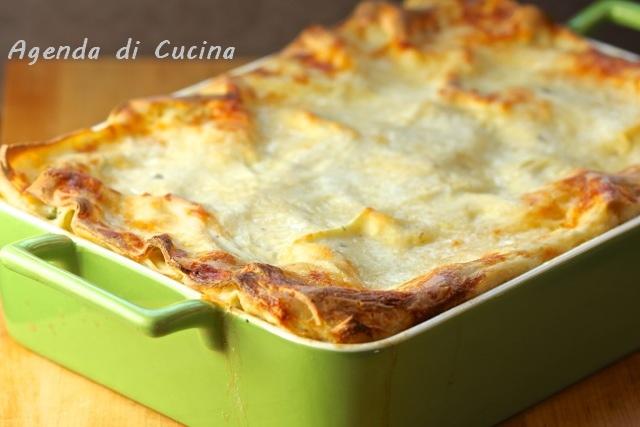 Pasticcio di lasagne con ragù di verdure