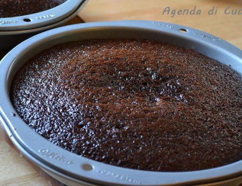 Torta cacao alla crema di ricotta