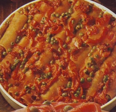 Cannelloni alle salsicce
