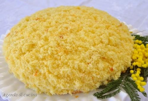 Torta Mimosa al profumo di arance1
