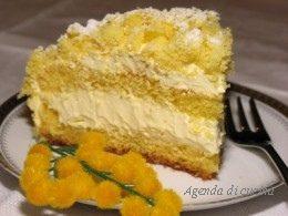 Torta Mimosa al profumo di arance